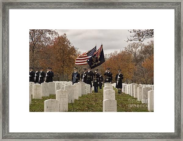 Honor Guard Framed Print