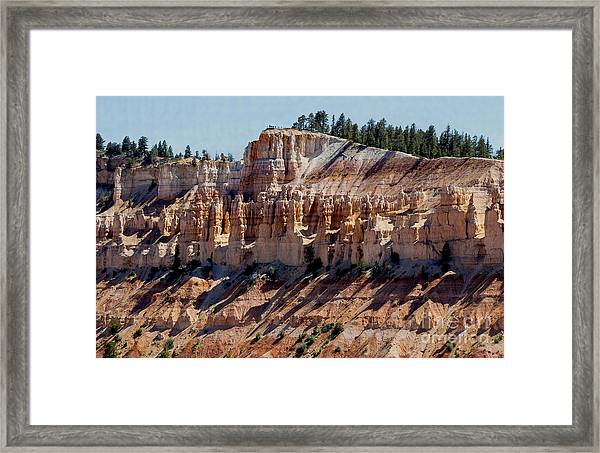 Framed Print featuring the photograph Hoo Doo Line-up by Mae Wertz