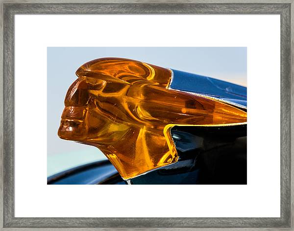 Hood Ornament  Framed Print