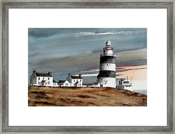 Hook Lighthouse Wexford Framed Print