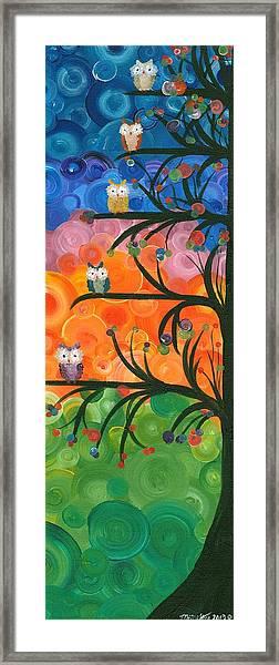 Hoolandia Family Tree 01 Framed Print