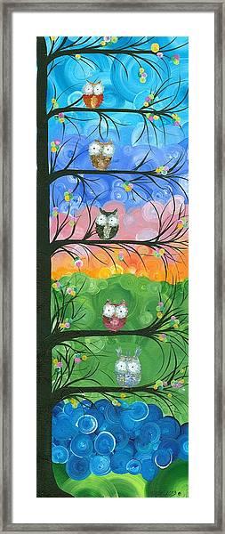 Hoolandia Family Tree 02 Framed Print