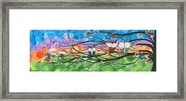 Hoolandia Family Tree 04 Framed Print