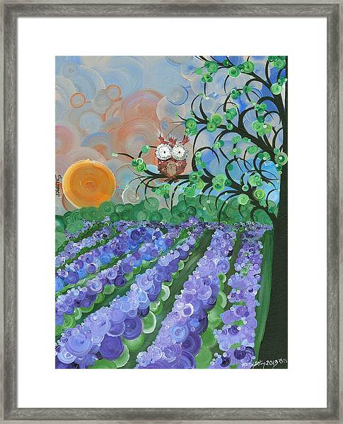 Hoolandia Seasons Summer Framed Print