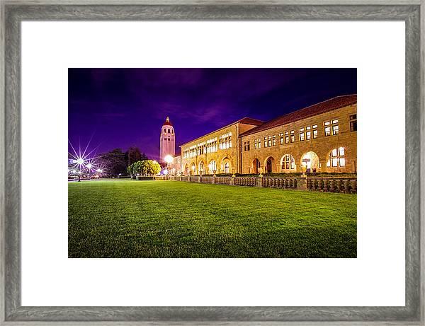 Hoover Tower Stanford University Framed Print