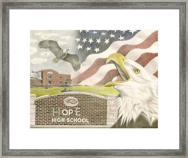 Hope High School Framed Print