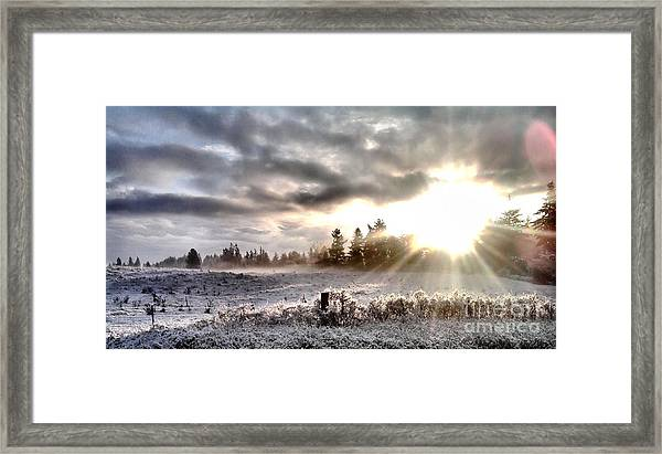 Hope - Landscape Version Framed Print
