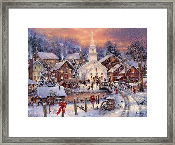 Hope Runs Deep Framed Print