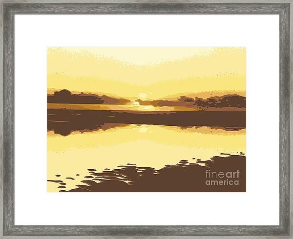 Horizon 2 Framed Print