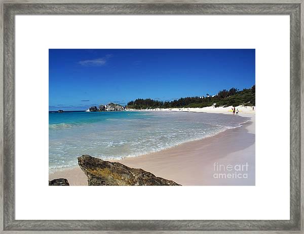 Horseshoe Bay Beach Framed Print