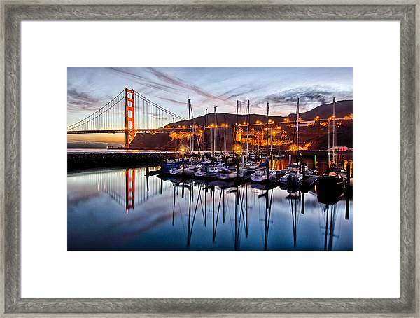 Framed Print featuring the photograph Horseshoe Cove by Robert Rus