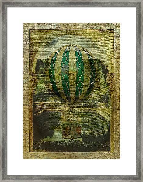 Hot Air Balloon Voyage Framed Print