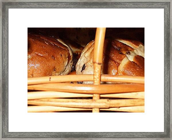 Hot Cross Buns #2 Framed Print