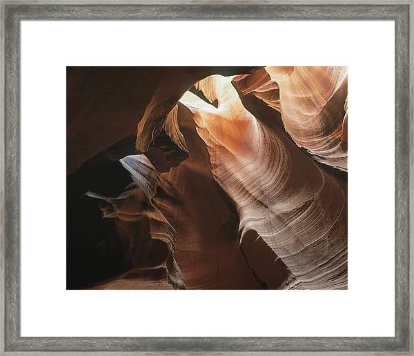 Slot Canyon  Horizontal Framed Print