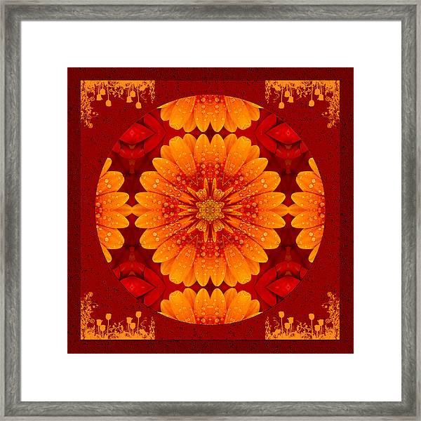 Hot Tropical Zen Framed Print