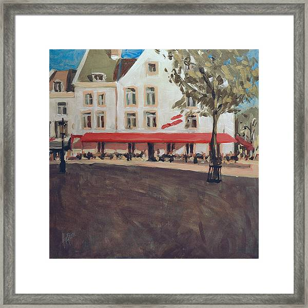 Hotel La Colombe Early Autumn Framed Print