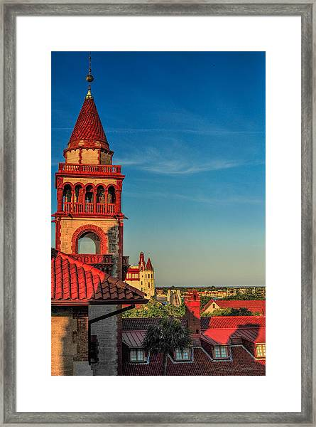 Hotel Ponce De Leon Framed Print