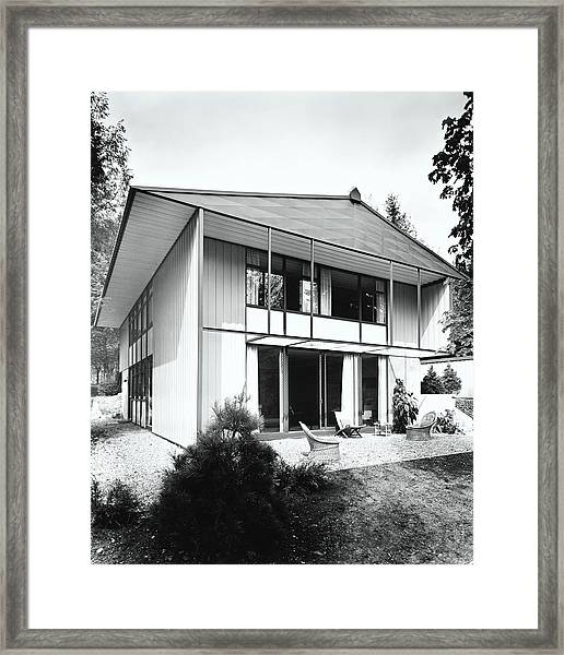 House Exterior Framed Print