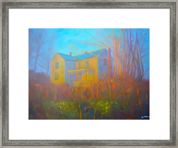 House In Blacksburg Framed Print