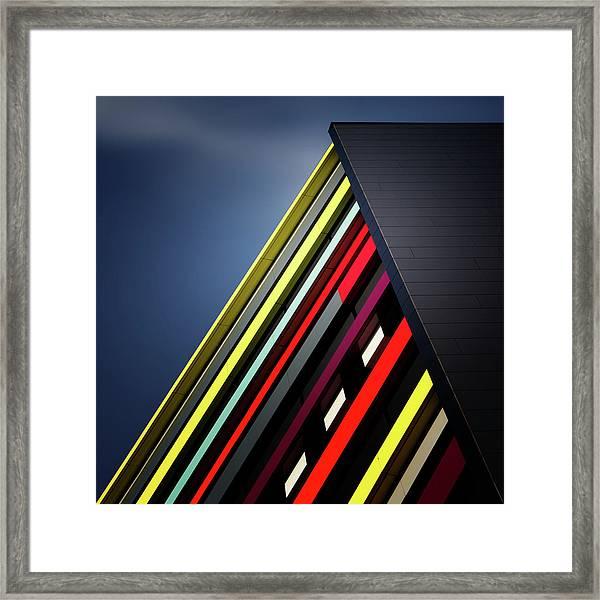 House Of Colours Framed Print
