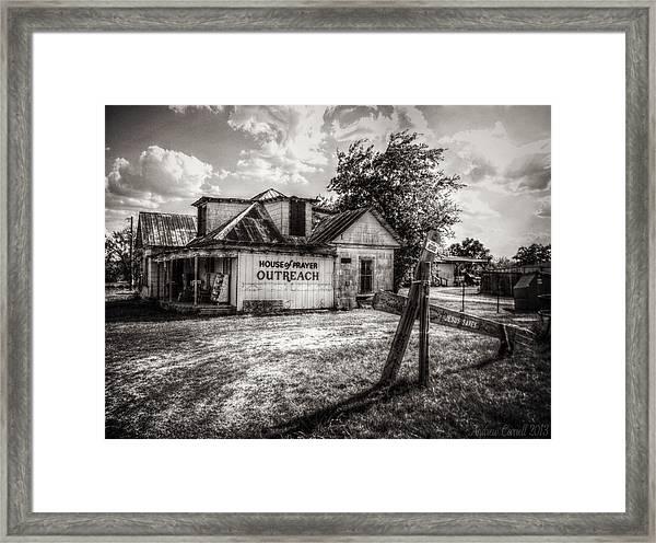 House Of Prayer Framed Print