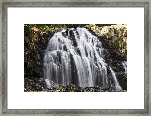 Houston Brook Falls Framed Print