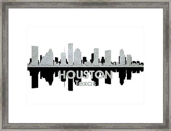 Houston Tx 4 Framed Print