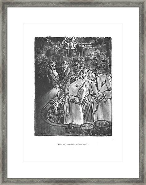 How Do You Make A Wassail Bowl? Framed Print
