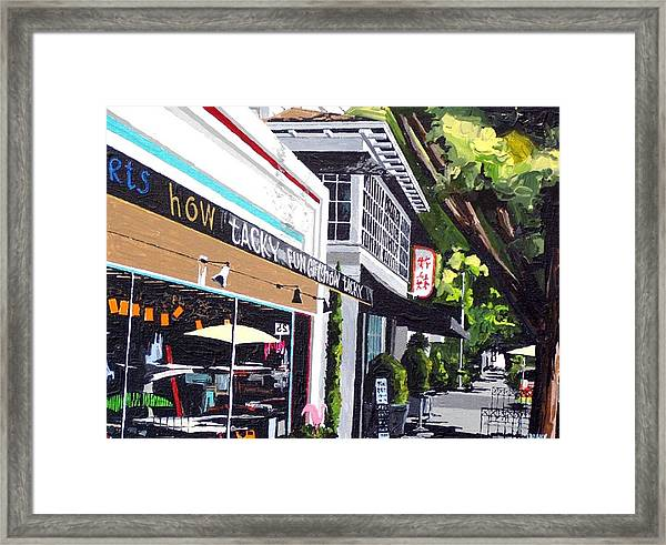 How Tacky Framed Print by Paul Guyer