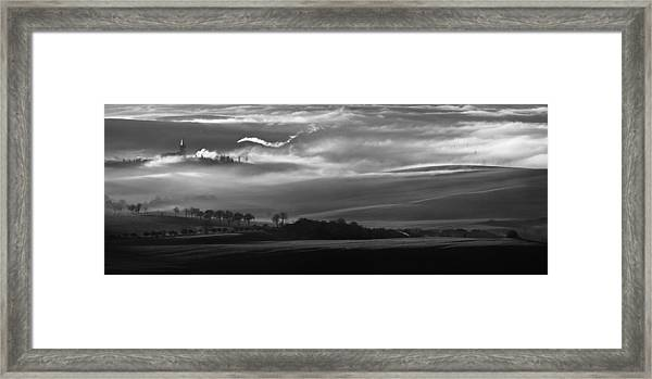 How The Mists Arise Framed Print