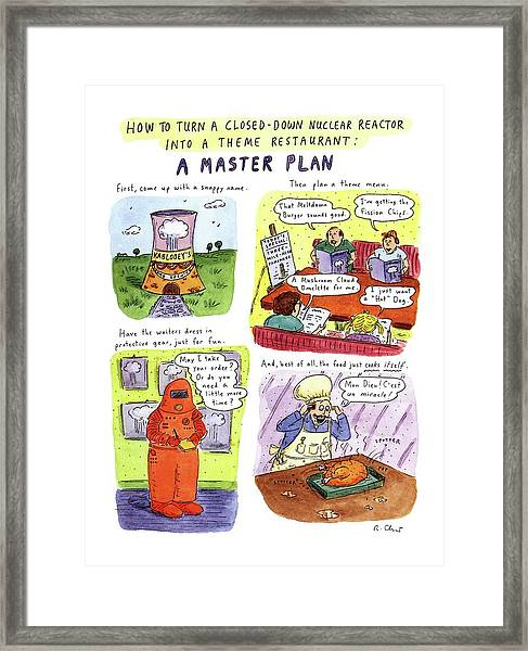 How To Turn A Closed-down Nuclear Reactor Framed Print