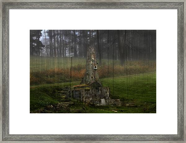 Howard Chandler Christy Ruins Framed Print