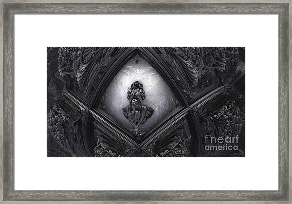Hr Giger In Memorium Framed Print