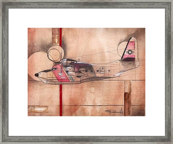 Hu 16 Albatross Framed Print