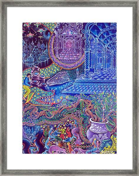 Huasi Yachana Framed Print