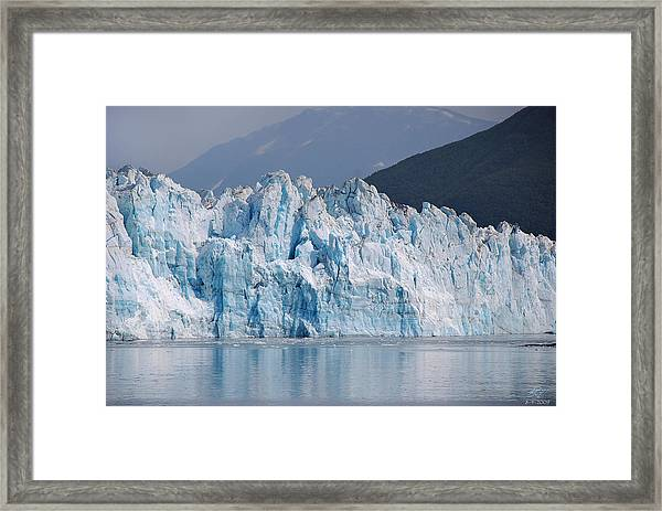 Hubbard Glacier Framed Print