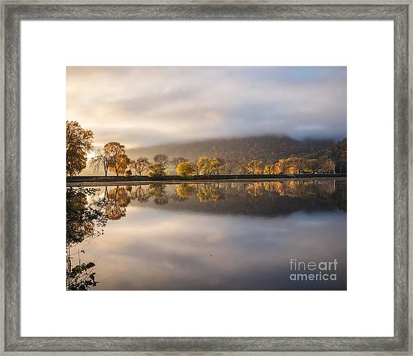 Framed Print featuring the photograph Huff Street Magic 8x10 by Kari Yearous