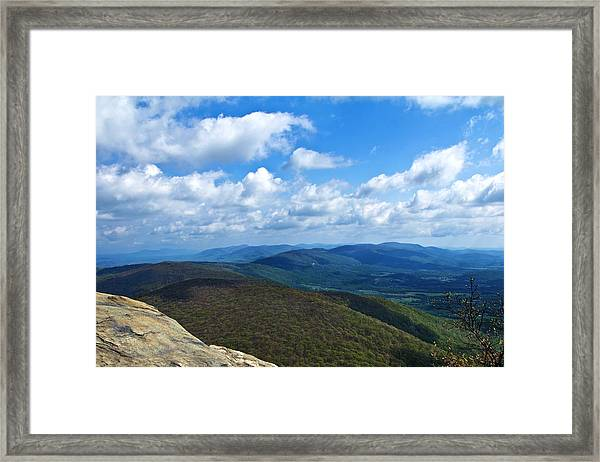 Humpback Rocks View North Framed Print