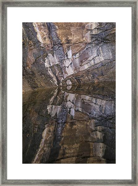 Hunter Canyon Seep Framed Print