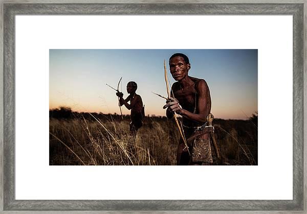 Hunters Framed Print by Goran Jovic