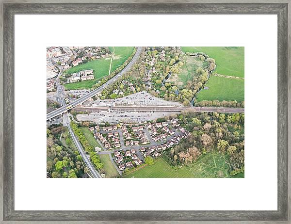 Huntingdon Railway Station Framed Print