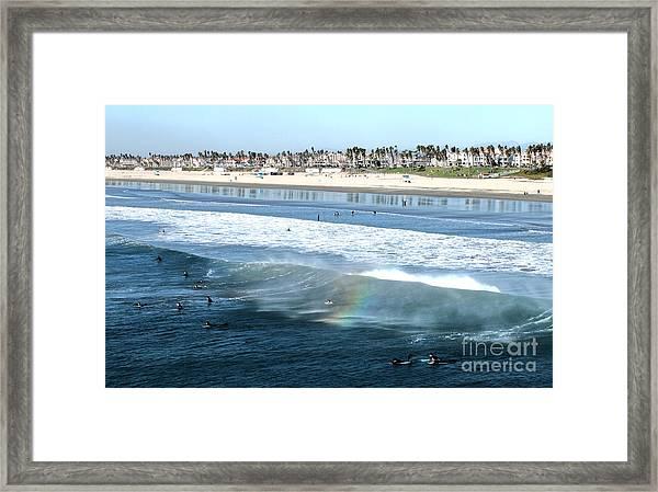 Huntington Beach - 15 Framed Print