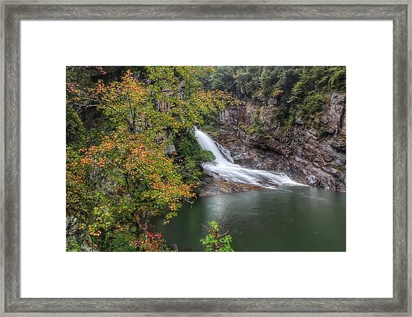 Hurricane Falls Framed Print