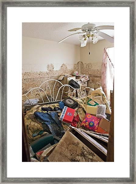 Hurricane Katrina Damage Framed Print