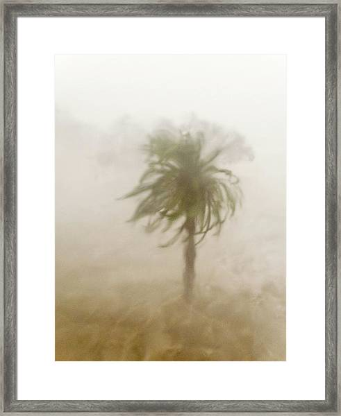 Hurricane Katrina Hits Gulfport Framed Print