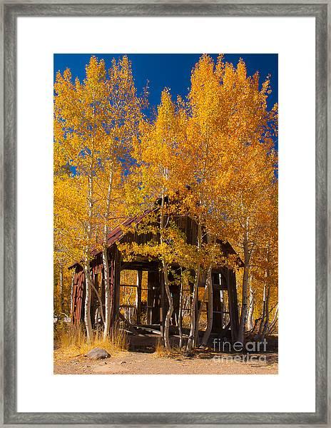 Hushed Home Framed Print