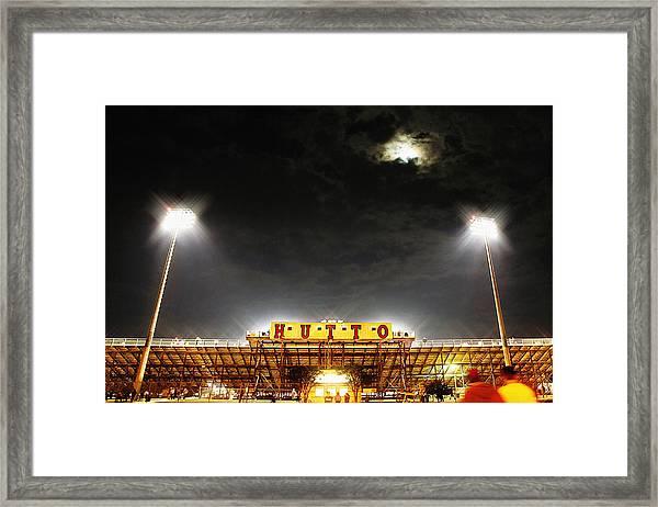 Hutto Hippo Stadium Framed Print