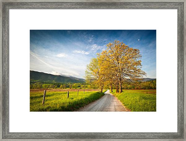 Hyatt Lane Cade's Cove Great Smoky Mountains National Park Framed Print