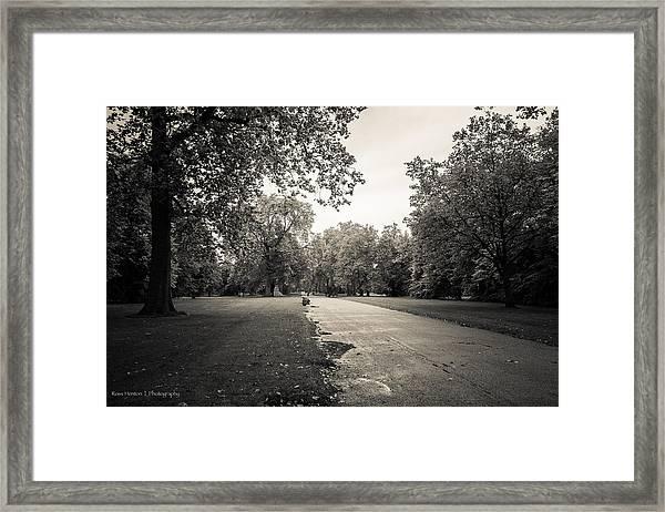 Hyde Park - For Eugene Atget Framed Print