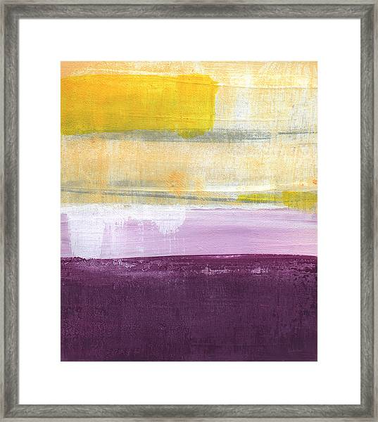 Hydrangea Two - Abstract Painting Framed Print